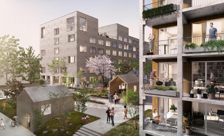 JFP skal bygge 350 boliger ved den tidligere journalisthøjskole