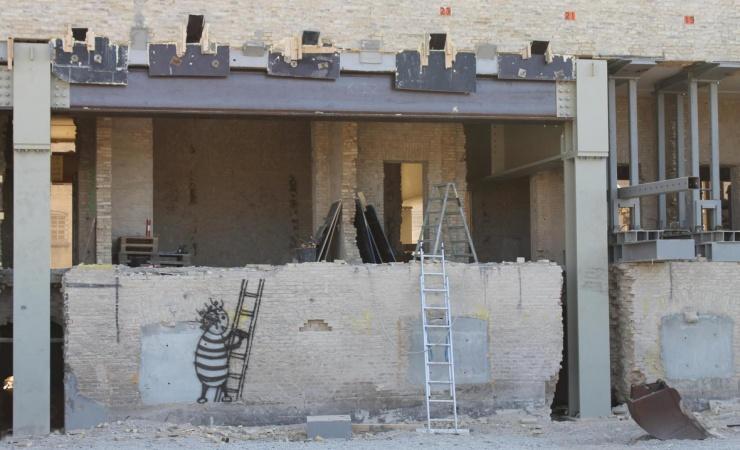 Stor ny multisal bryder ud af Fængslets gamle mure