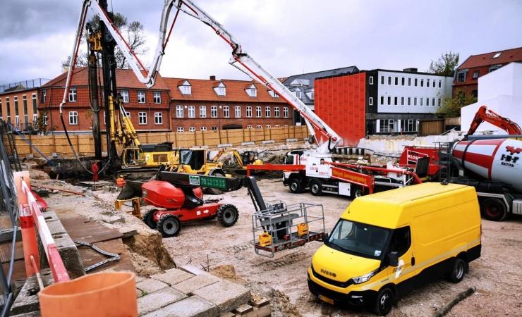 Første byggeplads uden diesel på vej i hovedstaden