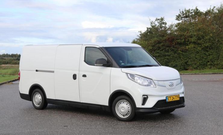 Stærke batterier og lang rækkevidde i nye elektriske varebiler