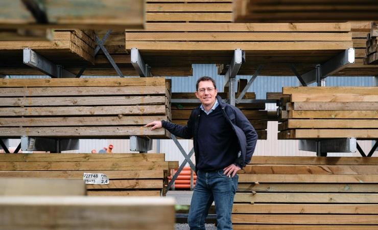 To byggecentre bliver til én stor tømmerhandel