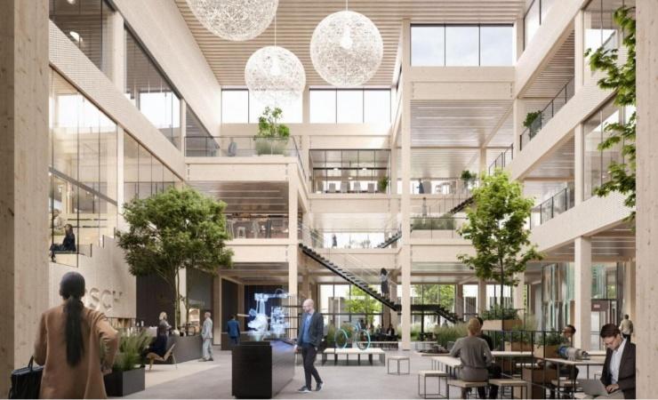 Boschs nye hovedkvarter i Ballerup skal sætte nye standarder