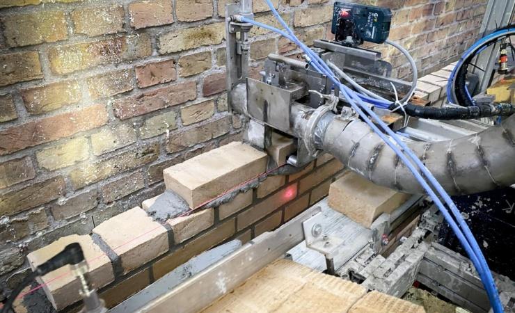 Murerrobot skal afhjælpe nedslidningsskader