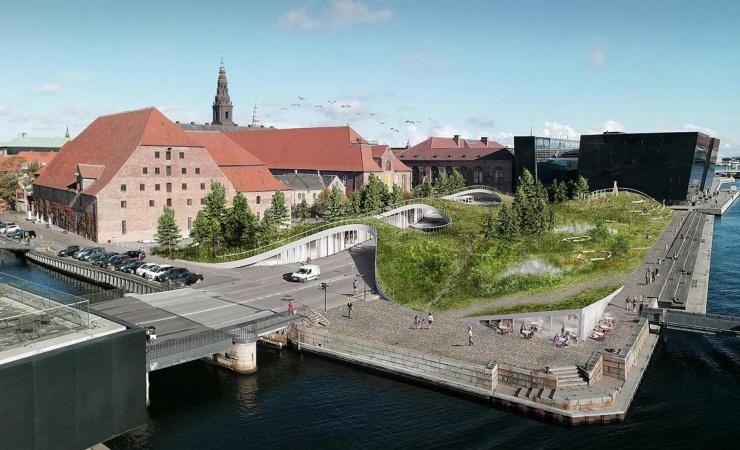 Arkitekter drømmer om grønt åndehul i hovedstaden