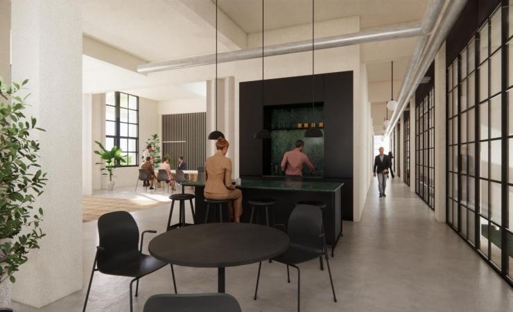 Store planer for Hellebæk Klædefabrik