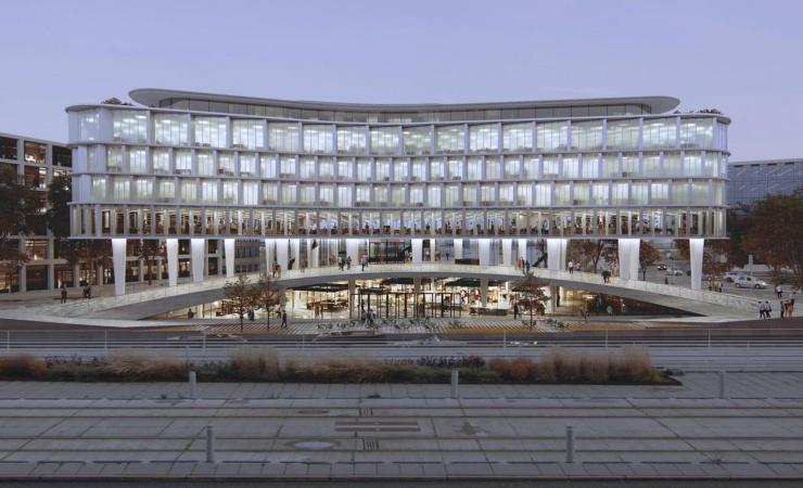 Mandrup tegner ny byport til Aarhus Ø