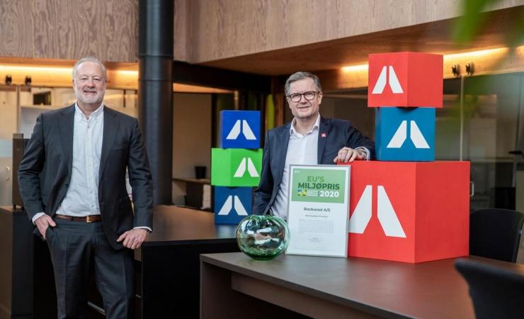 Rockwool vinder EU's Miljøpris for Bæredygtige Processer