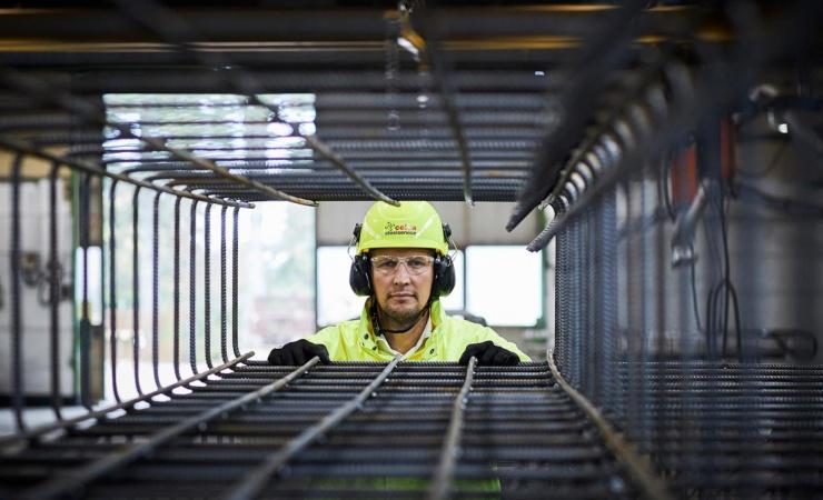 Tscherning Beton tester Celsa Steel Service