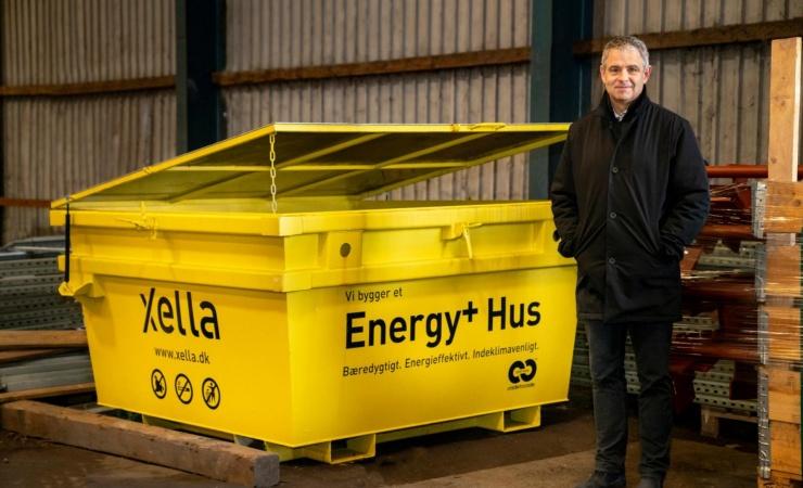 Container-indsamling skal øge genbruget af porebeton