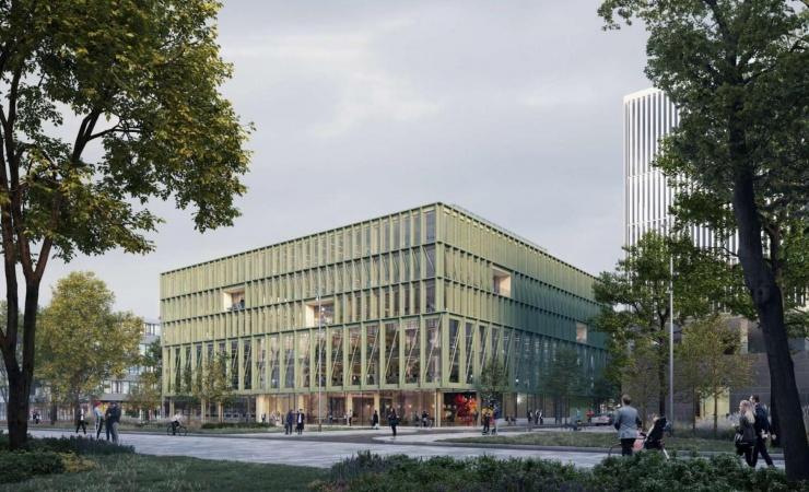 Dansk træhybrid skal pryde tysk metropol