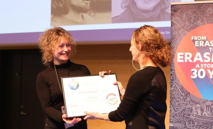 Lærlinge vinder priser for at fortælle om udenlandsophold