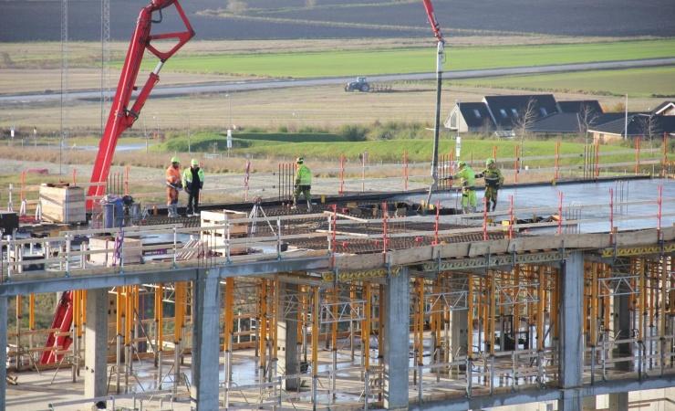 Fortsat stigende beskæftigelse i byggeriet