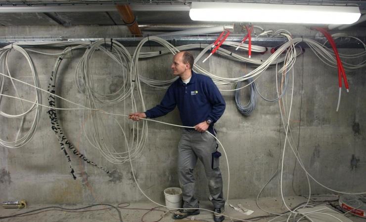 Færre konkurser i installationsbranchen