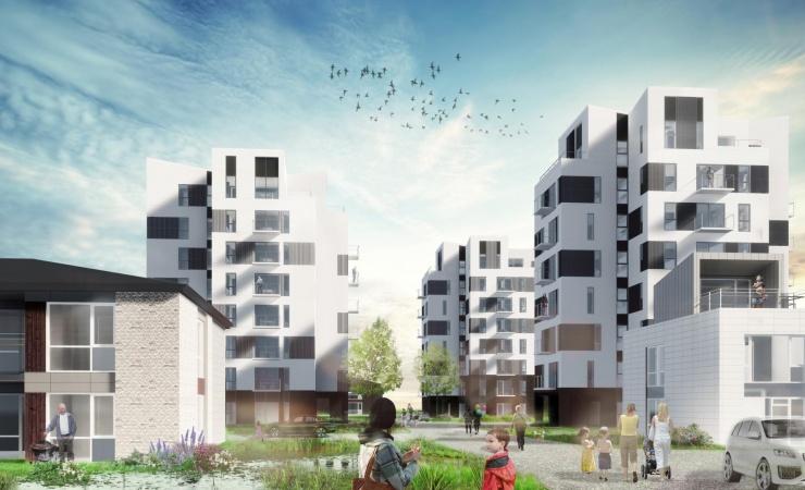 Lokale rejser kvart milliard til byggeprojekt i Aalborg Øst
