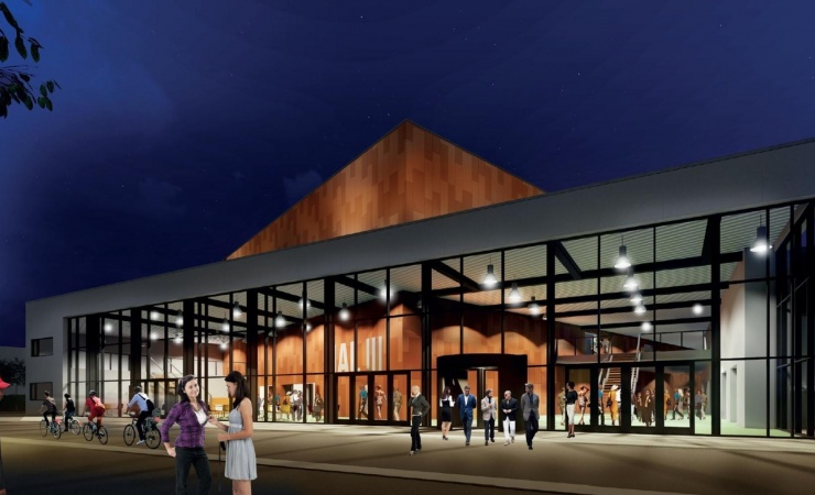 Dansk Halbyggeri underskriver kontrakt på Køgehallerne
