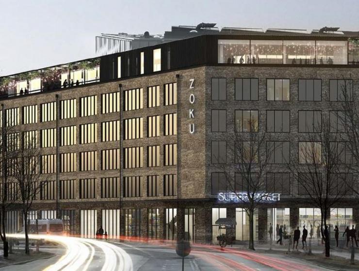 Ugens Projekt: Hotel og kontor i Ørestad Nord