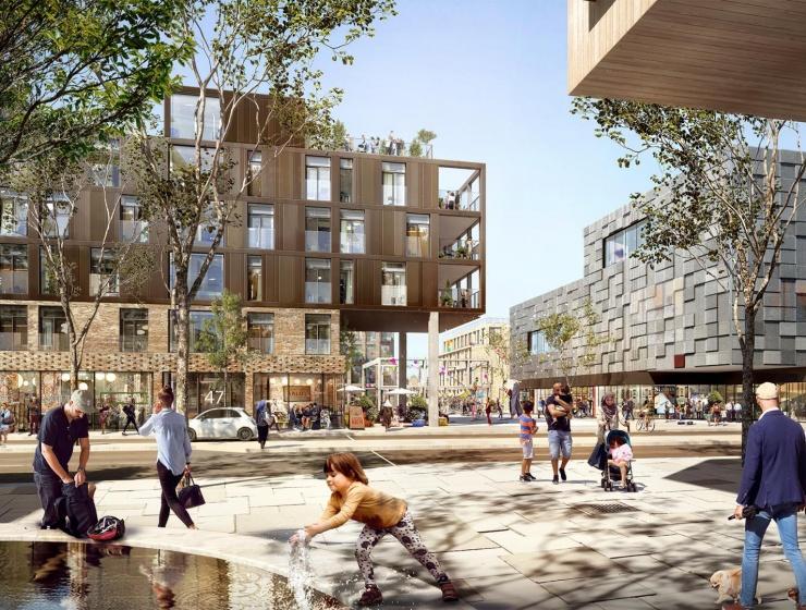 A. Enggaard skal udvikle nyt stort kvarter i Gellerup