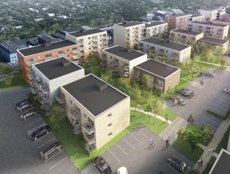 160 lejligheder opføres i Odense