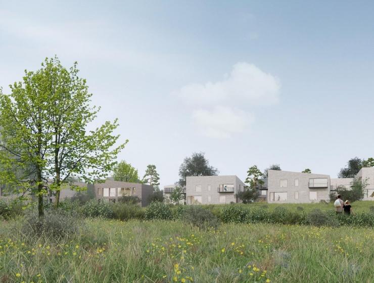 Horsens får 130 nye boliger i naturområde