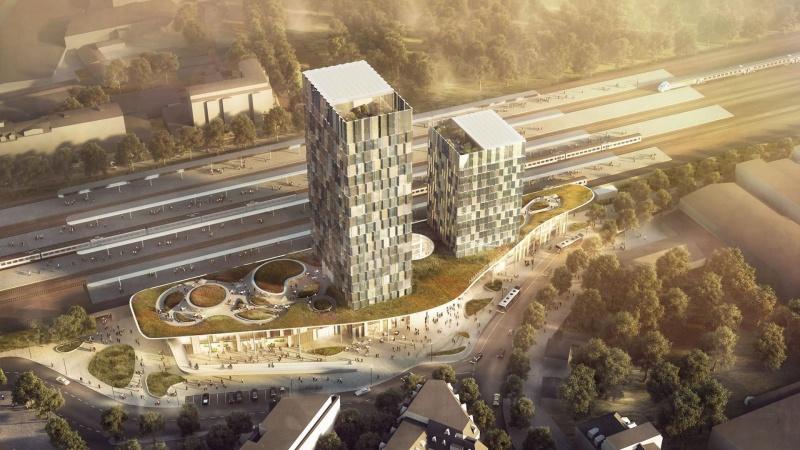 C.F. Møller vinder banegårdsprojekt i Tyskland