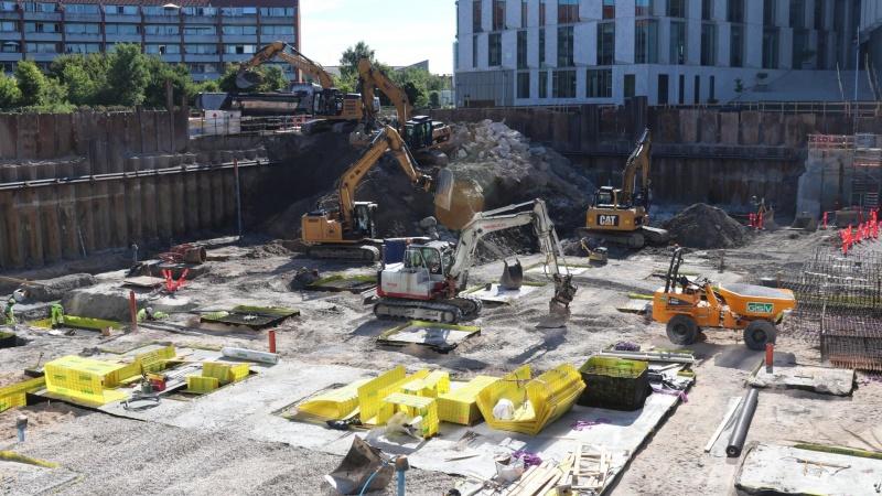 Forventning om DGNB guld til nyt kontorhus på gammel gasgrund