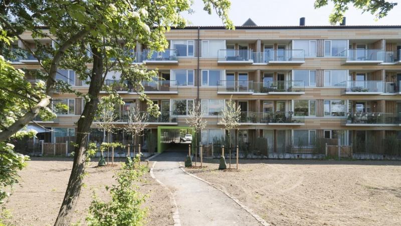 Renoveringen af Korngården i Ballerup