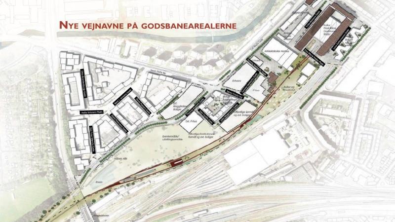 Nyt Aarhus-kvarter hylder 70'er-ikoner