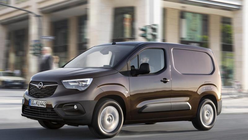 Ny Opel Combo lider ingen overlast