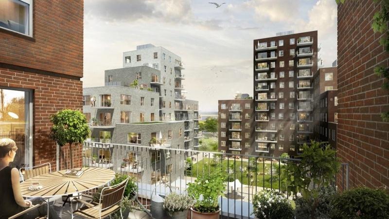 Rejsegilde på DGNB Guld-boliger ved Amager Strand