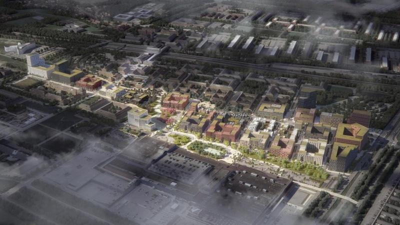 Calum køber byggefelter i Høje Taastrup C