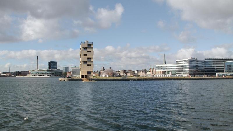 Trætårn på 32 meter skyder op i Aarhus