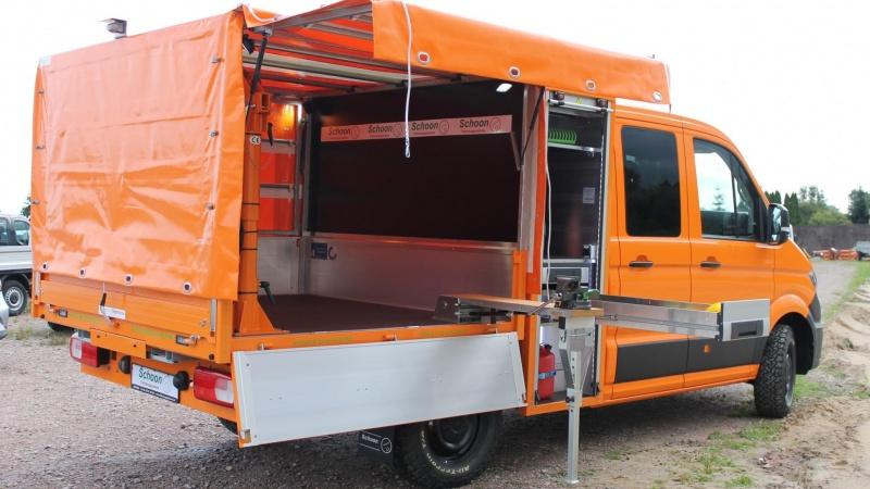 Schoon skruer op for komforten i VW Crafter