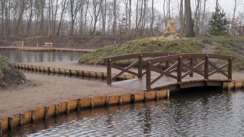 Robinie-træ løfter rekreativt område