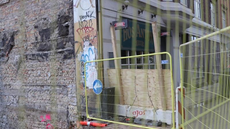Kortvarig adgang til afspærret område i Aarhus