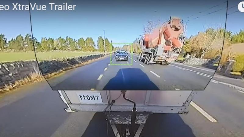 Frit udsyn gennem traileren