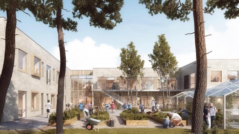 Royal Arena-entreprenør bygger ny skole i Varde