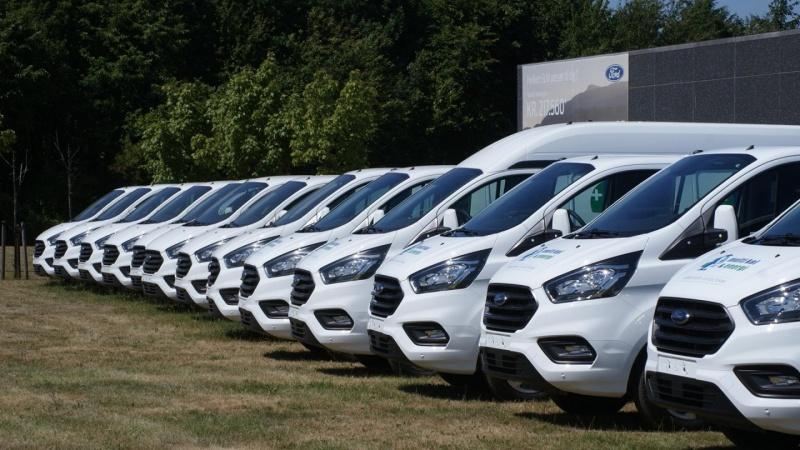 Salget af varebiler stiger