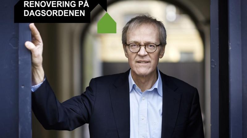 Flere energirenoveringer er en del af en større grøn bæredygtighedsdagsorden