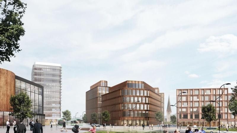 C.F. Møller vinder delopgave i svensk kontorprojekt