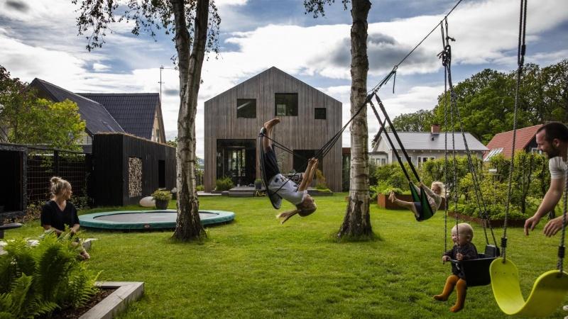 Renoveringen af villa i Silkeborg