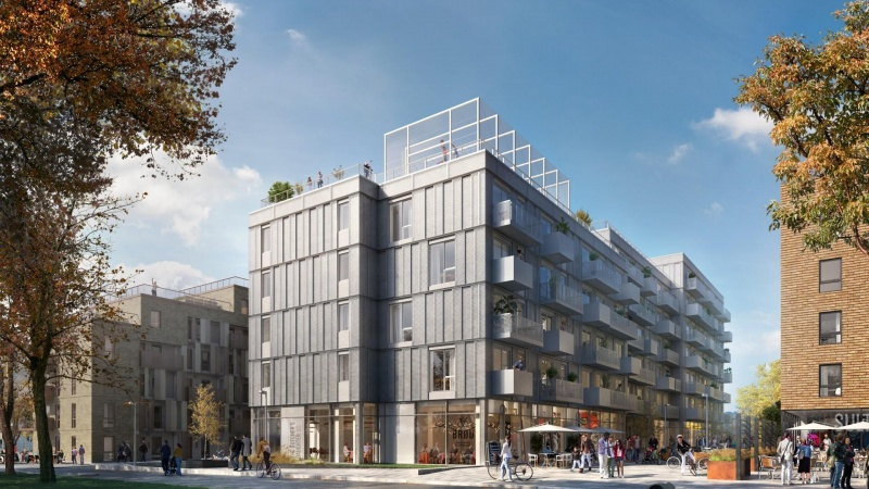Nyt boligområde i Aarhus vokser