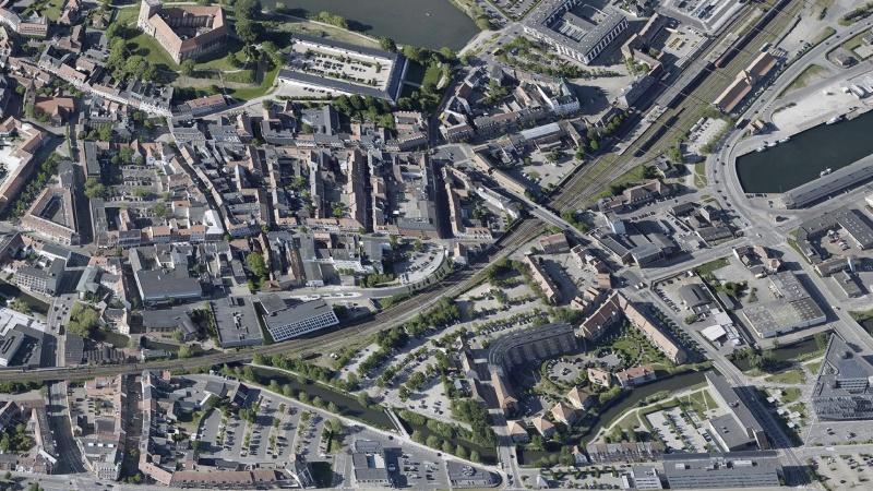 Kolding vil udvikle ny å-bydel med boliger til 1000 nye borgere
