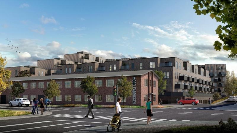 Innovativt murværk cementerer god akustik i ny bydel