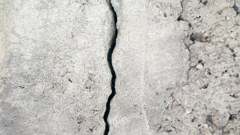 Hus smadret i elefant-tung tryktest af betonelementer