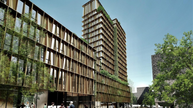 Aarhus får nyt højhus på 17 etager til studerende