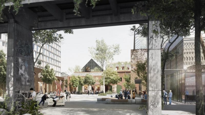 Højhusbyggeri i spil til Sydhavnskvarteret i Aarhus