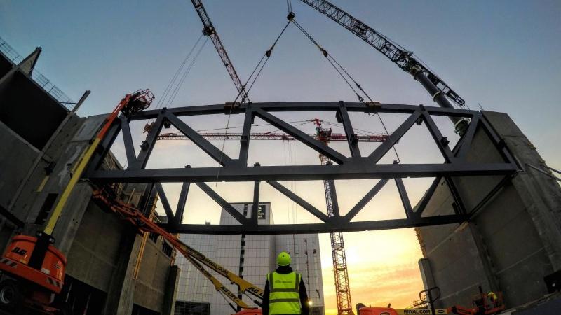 Give Steel leverer til The Hangar i København