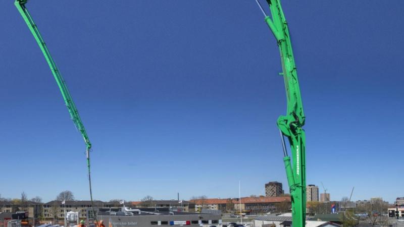 63 meter moderne betonpumpe