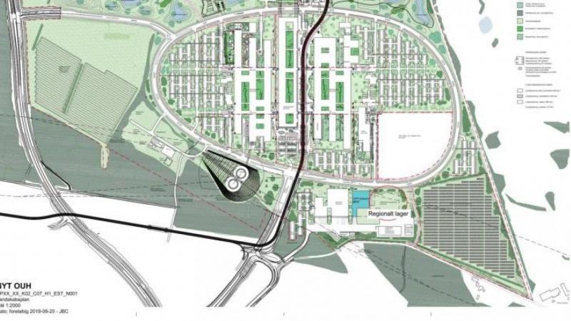 Region vil fremrykke byggeri af lager til værnemidler