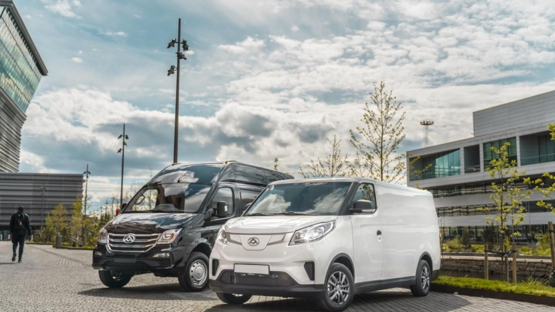 El-drevne varebiler fra Kina til Danmark